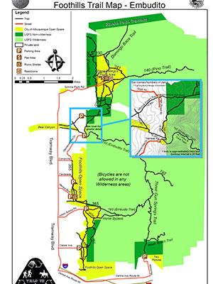 Map F1442 Embudito